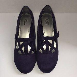 Cato Shoes - Purple Heels